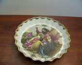 Vintage Prince George China Dish or Wall Hanging of Jesus and the Children - 1454