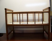 Vintage Child's Crib Bed - M1079