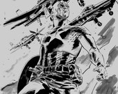 C2E2 Captain America art
