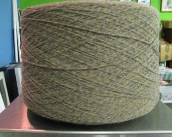 3/15 Acrylic Cone Yarn Sand, Camel, Gray Marl, WEaving Yarn, Crochet Yarn, Machine Knitting Yarn