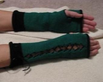 Digital Knitting Pattern, Vintage Style Fingerless Gloves PDF, Boho Chic Style, Machine Knitting Fingerless Gloves Pattern, Knitting Pattern