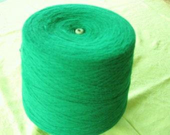 Kelly Green Acrylic Cone Yarn