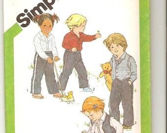 Simplicity 9885 Toddler 2