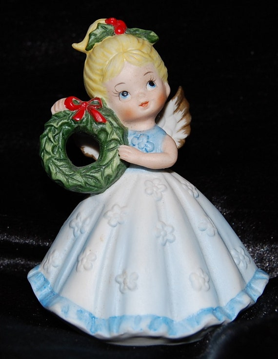 Vintage Brinns Pittsburgh Made in Japan Christmas Angel Figurine HOLD FOR Margaret