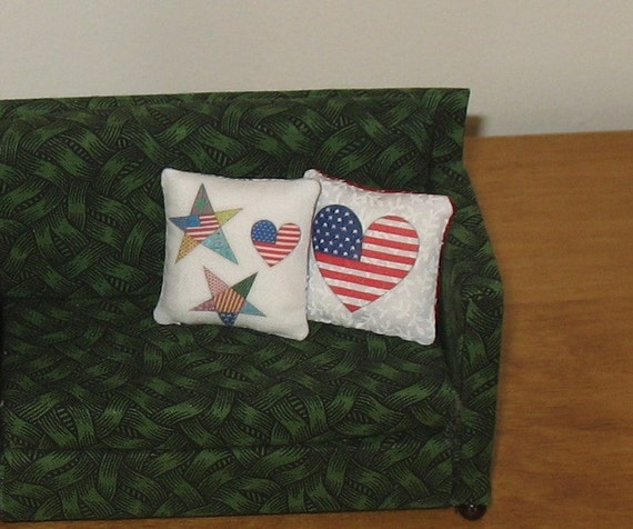 1:12 Dollhouse Miniature Pillows