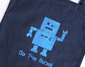 Inked Tote - Do the Robot