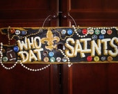 New Orleans Saints Custom Hand Painted Sign