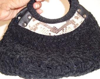 Black Wrist Bag