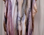 Handpainted Silk Tunic Dress SAMPLE SALE reserved for ELENA