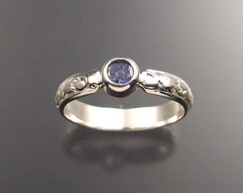 Tanzanite Ring, Sterling, Any Size