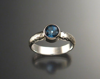 London Blue Topaz ring, any size