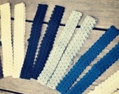 Baby Girl Elastic  Headbands set of 12- basic colors- Ready to ship 50% OFF