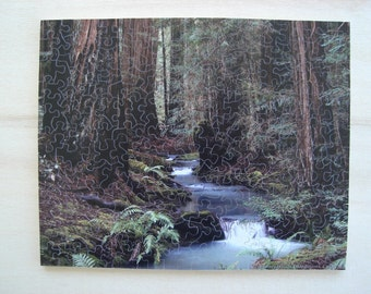 8 x 10 Hand Cut Puzzle with 191 Pieces with Figurals