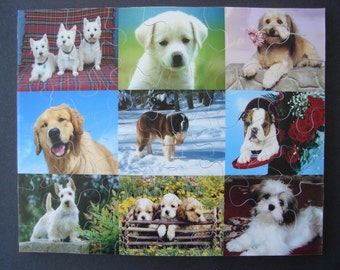 8 x 10 Hand Cut Puzzle with 34 Large Pieces Ready to Ship