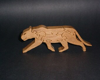 Tiger Wooden Standup Puzzle
