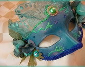 Pania of the Reef OOAK Hand Painted Masquerade Ball