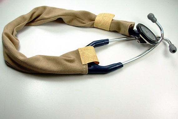 tan stethoscope cover t-shirt material