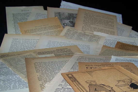 Vintage Paper Assortment 25 pieces ephemera