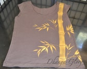 Bamboo Forest American Apparel Two Sided Top Custom Colors