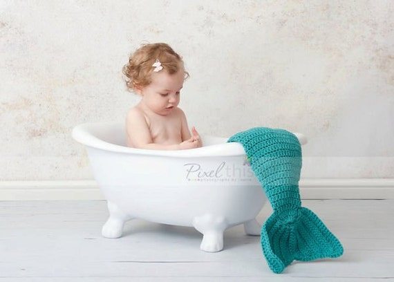 pdf crochet pattern crochet mermaid tail prop newborn 3m. Black Bedroom Furniture Sets. Home Design Ideas