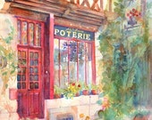 David's Europe 2 (A & C Squire Poterie) - Giclee Fine Art Print