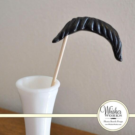 SALE - Mustache on a Stick - The Sheriff