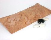 Aromatherapy Eye Pillow,  washable slip cover in pink marble cotton,  Mother's Day gift