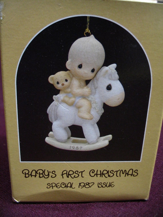 Precious Moments Baby S First Christmas Enesco Special By