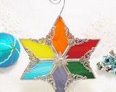 Rainbow of Hope Snowflake