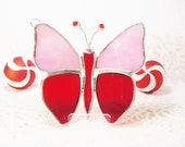 Pink and Red Flutterby