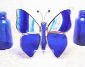 Cobalt Blue Flutterby