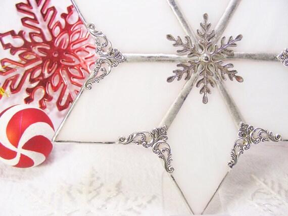 White Wispy Christmas  Tree Topper