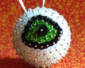 Eyeball Ornament- Lime