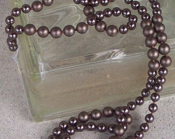 Knotted Glass Pearls