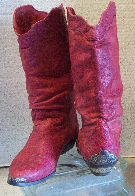 My Red Cow Boots