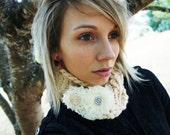 Snow Fawn- A whimsical treat for cold weather- Luxury Alpaca/Wool Blend
