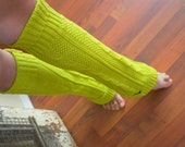 Lemongrass Leg Warmers- 100% Cotton