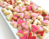 VALENTINE'S DAY LOVE Mini Heart Cookies (1 pound)