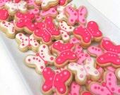 Beautiful Butterflies Design 2 Cookies (1/2 pound)