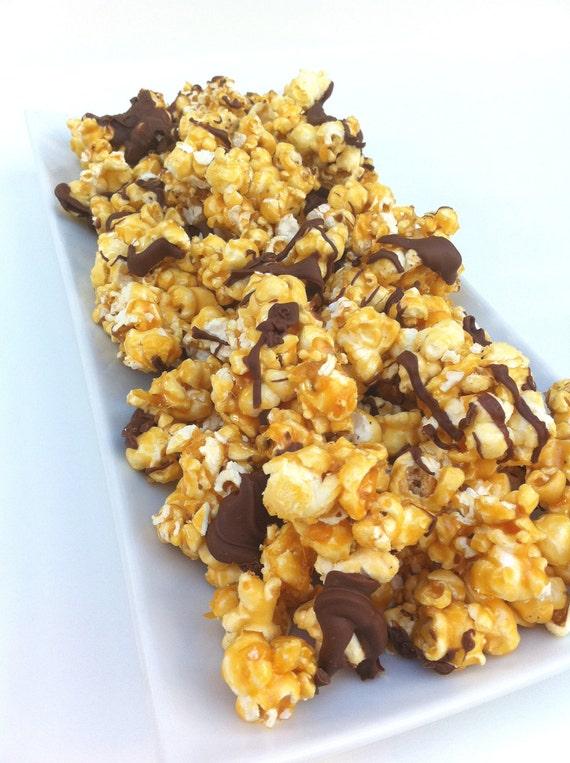 Caramel Corn with Chocolate (10 ounces)