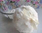 BODY POWDER Set - winter white - bath skin care - creamy ivory