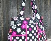 The Arden - Fabric Tote/Purse/Handbag/Diaper Bag