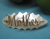pretty mother-of-pearl brooch for mom
