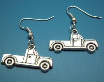 Pickup Truck Earrings - geek chic jewellery funky earrings car earrings farmer farm ute fun jewelry funny earrings quirky earrings cute punk