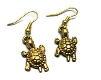 Bronze Camera Earrings geeky earrings quirky earrings funny