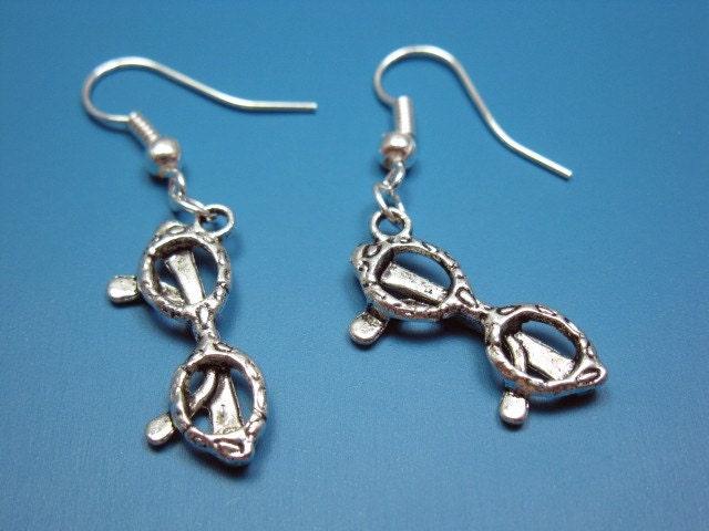 nerdy glasses earrings geeky earrings earrings science