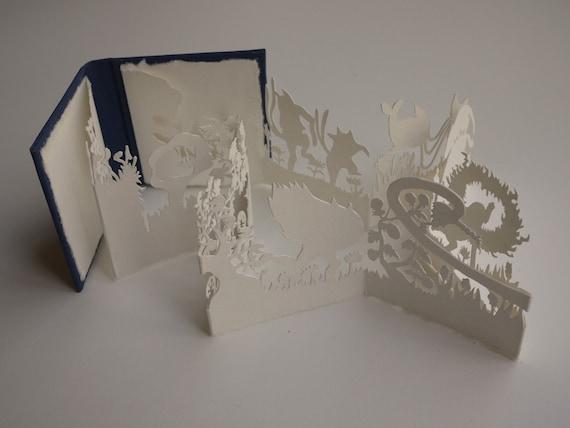 Rachel's Garden II - Miniature Artist Book