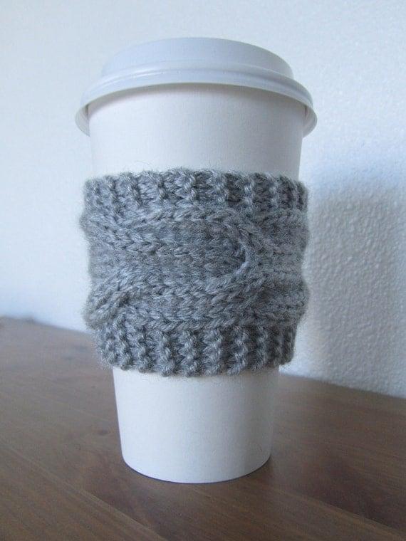 Ghost Grey Coffee/Tea Sleeve