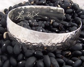 Ex-Large Luck and Love Sterling Silver Cuff Bracelet