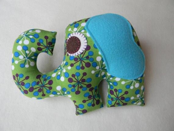 Plush Elephant Toy Children